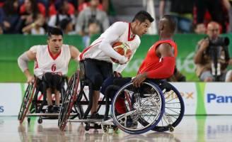شکست بسکتبال با ویلچر ایران از بریتانیا