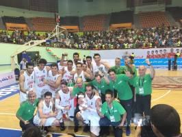 قهرمانی ایران در فیبا آسیا چلنج