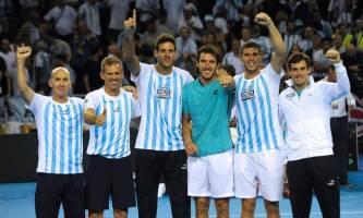 راهیابی تیم تنیس آرژانتین به فینال مسابقات دیویس کاپ
