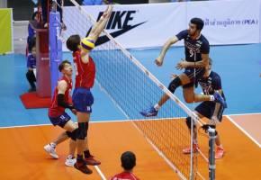 تایلند حریف تیم ملی والیبال ایران در یک چهارم نهایی کاپ آسیا