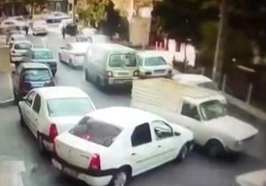 دستگیری راننده وانت جنجالی