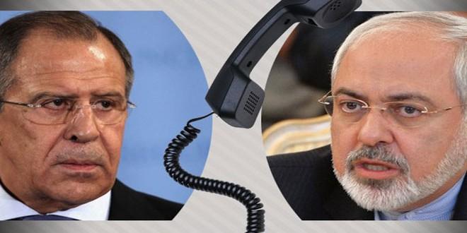 تماس تلفنی ظریف و لاوروف درباره سوریه