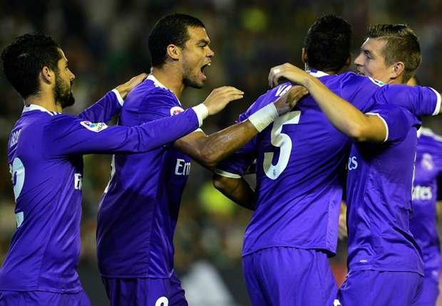 <h3>گلزنی 15 بازیکن رئال مادرید در این فصل </h3>