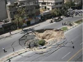 علت ایجاد حفرههای زیرزمینی در تهران