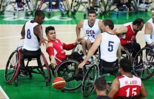 همگروهی بسکتبال با ویلچر ایران با ژاپن، هند و عربستان