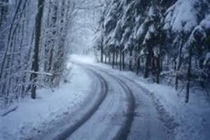 بارش 20 سانتیمتری برف در چابکسر گیلان