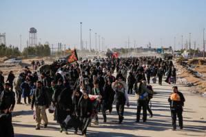 ویزیت رایگان زائران در بیمارستانهای عراق  ورود زائران از مرز مهران به کشور