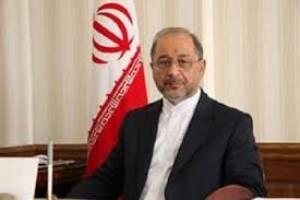 دیدار خداحافظی سفیر ایران در بلاروس با وزیر امور خارجه این کشور