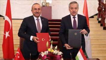 سفر وزیر خارجه ترکیه به تاجیکستان