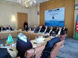حضور ظریف در اجلاس گروه کاری ویژه تدوین کنوانسیون رژیم حقوقی دریای خزر