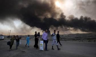 داعش به سلاح  زمین سوخته روی آورد