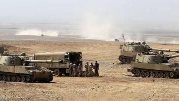 مواضع داعش در بعشیقه موصل را با سلاح توپخانهای هدف گرفتیم