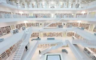 گشتی در زیباترین کتابخانههای جهان +عکس
