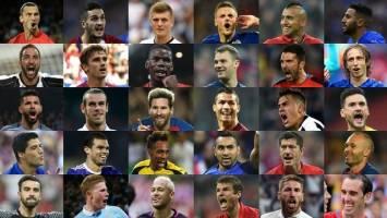 30 ستاره فوتبال جهان در مسیر توپ طلا + تصاویر