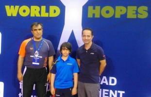 هفتمی تیم تنیس روی میز منتخب امیدها در مسابقههای قهرمانی نوجوانان جهان