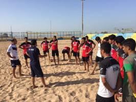 تیم های ملی فوتبال ساحلی و فوتبال بانوان بدرقه شدند