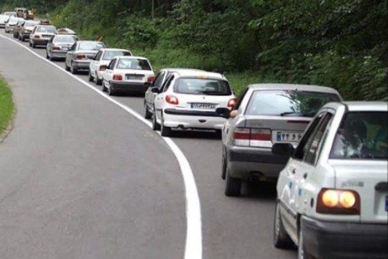 ترافیک سنگین  در آزاد راه های زنجان