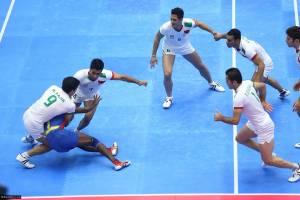 برتری تیم ملی کبدی ایران برابر تانزانیا