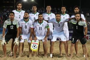 فوتبال ساحلی ایران نایبقهرمان جهان شد