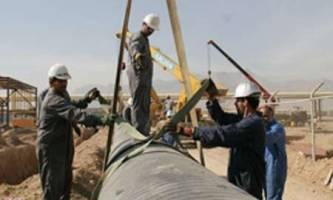 عملیات اجرایی گازرسانی به جنوب کرمان آغاز شد