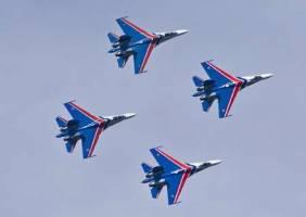 شوالیه های آسمانی روسیه راهی کیش شدند