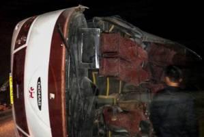 لغو دایم پروانه فعالیت شرکت مسافربری مقصر در تصادف اتوبوس زائران در اقلید فارس
