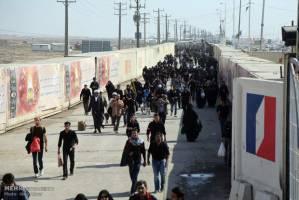 شب گذشته ۶۰۰ نفر غیر قانونی از مرز مهران گذشتند