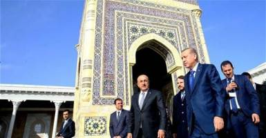 اردوغان به دنبال تجدید روابط با ازبکستان