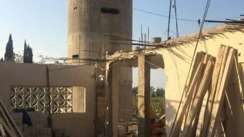 لبنان در اطراف اردوگاه آوارگان فلسطینی دیوار میسازد