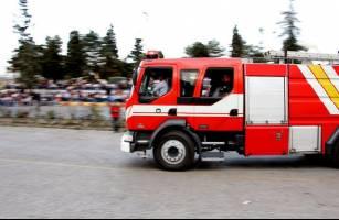 نجات 16 تن از حریق برج مسکونی در اشرفی اصفهانی