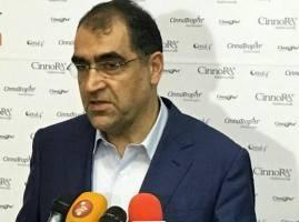 تسلیت وزیر بهداشت به خانواده قربانیان حادثه عراق و سمنان
