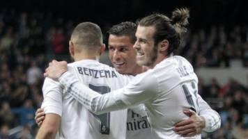رئال مادرید بدون BBC بهتر نتیجه میگیرد