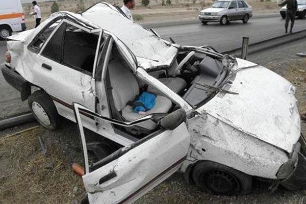 سه کشته و مصدوم تلفات تصادف در زنجان