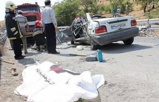 6 کشته و 46 زخمی در تصادف اتوبان کرج - قزوین