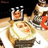 کیک تولد متفاوت و جالب الهام حمیدی!