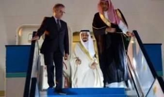 پادشاه عربستان وارد قطر شد