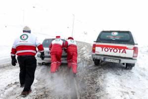 5 استان تحت تاثیر برف و کولاک در شبانه روز گذشته