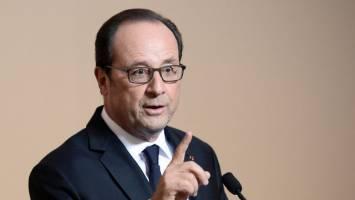 اولاند روسیه را به مانع تراشی در تلاشهای سازمان ملل درباره سوریه متهم کرد