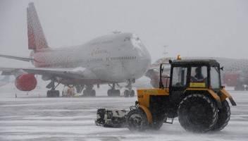 لغو پروازها در مسکو به دنبال شرایط جوی ناپایدار