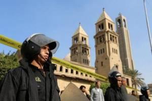 ۲۵ کشته در انفجار کلیسای جامع قبطیهای مصر
