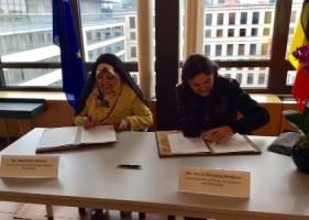 امضای سند یادداشت زیست محیطی ایران و بلژیک