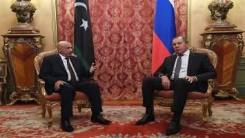 تاکید لاوروف بر حمایت از ارتش لیبی