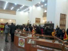 نمایشگاه مشترک «تمبر، سفیر دوستی» با حضور 6 کشور در تهران گشایش یافت