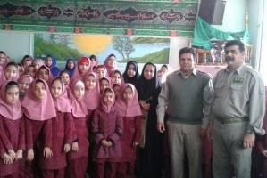 اجرای طرح آموزشی «ساعتی با محیطبان» در مدارس شهرستان پیشوا