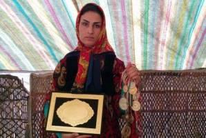 این دختر عشایری، قهرمان کیکبوکسینگ ایران است
