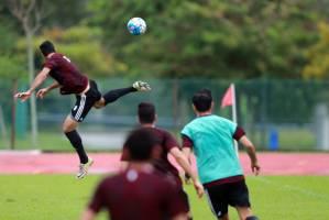 ادامه تمرینات تیم ملی در دوبی