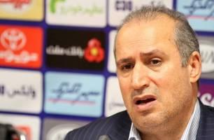 تاج: به کیروش گفتم بازیکنان پرسپولیس را به ایران نفرست