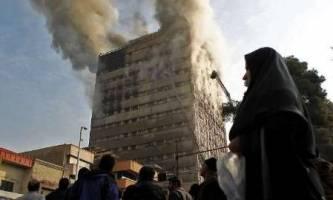 600 واحد صنفی در ساختمان پلاسکو فروریخت