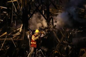 آمادهباش آتشنشانان کرجی برای اعزام به تهران
