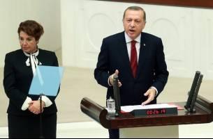 اردوغان لایحه اصلاحات قانون اساسی را تایید کرد